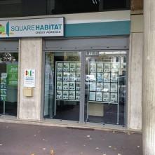 Devanture boutique Square Habitat par BPSC Océane