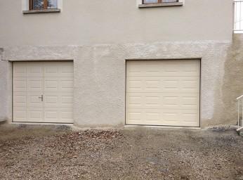 pose de portes de garage manuel et à moteur par BPSC Océane