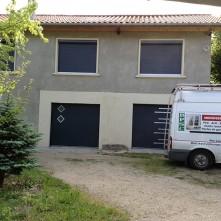 Installation et pose de portes de garage et volets roulants électriques design BPSC Océane