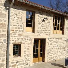 Baie vitrée, fenêtre et porte-fenêtre bois BPSC Océane