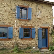 Porte fenêtre et volets assortis réalisés par BPSC Océane